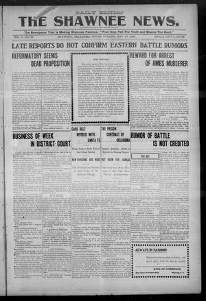 Primary view of object titled 'The Shawnee News. (Shawnee, Okla.), Vol. 5, No. 36, Ed. 1 Friday, May 26, 1905'.