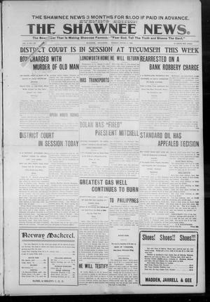 Primary view of object titled 'The Shawnee News. (Shawnee, Okla.), Vol. 9, No. 130, Ed. 1 Monday, March 5, 1906'.