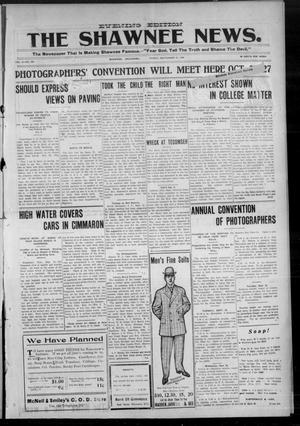 Primary view of object titled 'The Shawnee News. (Shawnee, Okla.), Vol. 9, No. 291, Ed. 1 Friday, September 21, 1906'.