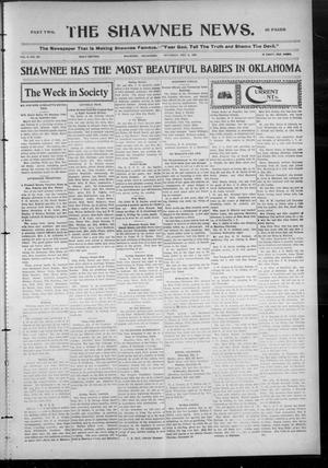 Primary view of object titled 'The Shawnee News. (Shawnee, Okla.), Vol. 9, No. 357, Ed. 2 Saturday, December 8, 1906'.