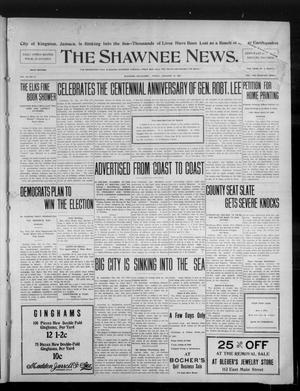 Primary view of object titled 'The Shawnee News. (Shawnee, Okla.), Vol. 10, No. 27, Ed. 1 Friday, January 18, 1907'.