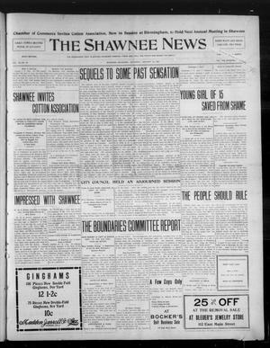Primary view of object titled 'The Shawnee News. (Shawnee, Okla.), Vol. 10, No. 28, Ed. 1 Saturday, January 19, 1907'.