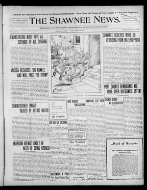 Primary view of object titled 'The Shawnee News. (Shawnee, Okla.), Vol. 10, No. 203, Ed. 1 Friday, August 16, 1907'.