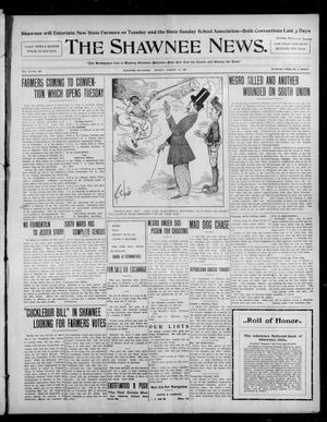 Primary view of object titled 'The Shawnee News. (Shawnee, Okla.), Vol. 10, No. 208, Ed. 1 Monday, August 19, 1907'.