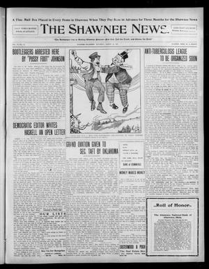 Primary view of object titled 'The Shawnee News. (Shawnee, Okla.), Vol. 10, No. 213, Ed. 1 Saturday, August 24, 1907'.