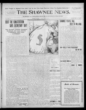 Primary view of object titled 'The Shawnee News. (Shawnee, Okla.), Vol. 10, No. 214, Ed. 1 Monday, August 26, 1907'.
