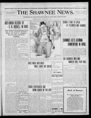 Primary view of object titled 'The Shawnee News. (Shawnee, Okla.), Vol. 10, No. 215, Ed. 1 Tuesday, August 27, 1907'.
