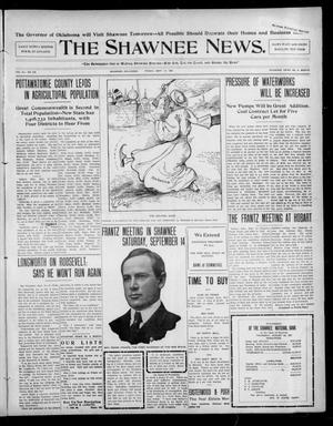 Primary view of object titled 'The Shawnee News. (Shawnee, Okla.), Vol. 10, No. 229, Ed. 1 Friday, September 13, 1907'.