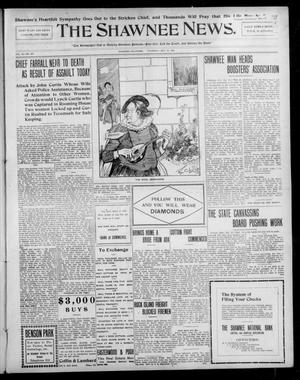 Primary view of object titled 'The Shawnee News. (Shawnee, Okla.), Vol. 10, No. 357, Ed. 1 Thursday, October 17, 1907'.