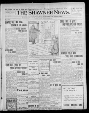 Primary view of object titled 'The Shawnee News. (Shawnee, Okla.), Vol. 13, No. 13, Ed. 1 Monday, November 11, 1907'.