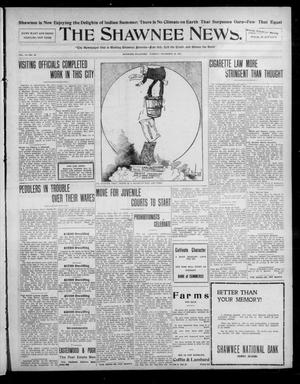 Primary view of object titled 'The Shawnee News. (Shawnee, Okla.), Vol. 13, No. 26, Ed. 1 Tuesday, November 26, 1907'.