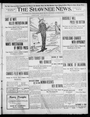 Primary view of object titled 'The Shawnee News. (Shawnee, Okla.), Vol. 13, No. 116, Ed. 1 Tuesday, February 25, 1908'.