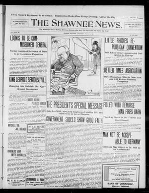 Primary view of object titled 'The Shawnee News. (Shawnee, Okla.), Vol. 13, No. 144, Ed. 1 Wednesday, March 25, 1908'.