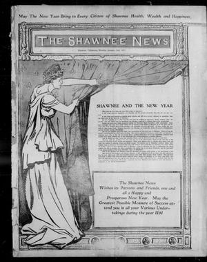 Primary view of object titled 'The Shawnee News (Shawnee, Okla.), Vol. 15, No. 1, Ed. 1 Monday, January 2, 1911'.