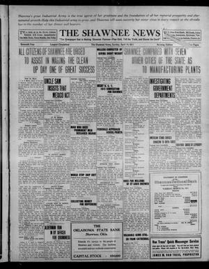Primary view of object titled 'The Shawnee News (Shawnee, Okla.), Vol. 16, No. 27, Ed. 1 Sunday, April 16, 1911'.