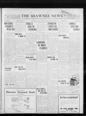 Primary view of object titled 'The Shawnee News (Shawnee, Okla.), Vol. 16, No. 145, Ed. 1 Wednesday, September 13, 1911'.