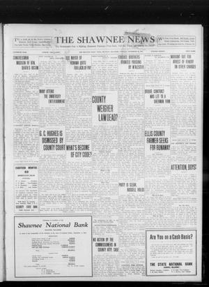 Primary view of object titled 'The Shawnee News (Shawnee, Okla.), Vol. 16, No. 150, Ed. 1 Tuesday, September 19, 1911'.