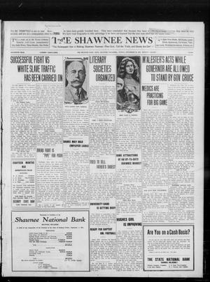 Primary view of object titled 'The Shawnee News (Shawnee, Okla.), Vol. 16, No. 154, Ed. 1 Sunday, September 24, 1911'.