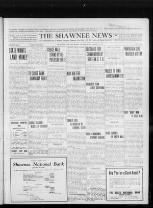 Primary view of object titled 'The Shawnee News (Shawnee, Okla.), Vol. 16, No. 155, Ed. 1 Monday, September 25, 1911'.