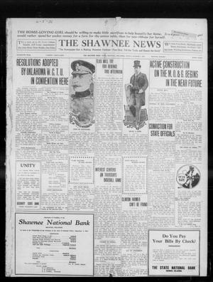 Primary view of object titled 'The Shawnee News (Shawnee, Okla.), Vol. 16, No. 160, Ed. 1 Sunday, October 1, 1911'.