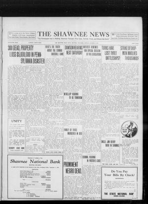 Primary view of object titled 'The Shawnee News (Shawnee, Okla.), Vol. 16, No. 161, Ed. 1 Monday, October 2, 1911'.