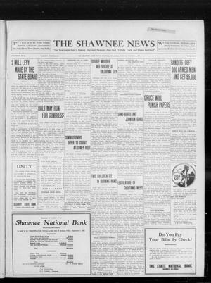 Primary view of object titled 'The Shawnee News (Shawnee, Okla.), Vol. 16, No. 162, Ed. 1 Tuesday, October 3, 1911'.
