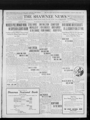 Primary view of object titled 'The Shawnee News (Shawnee, Okla.), Vol. 16, No. 166, Ed. 1 Sunday, October 8, 1911'.