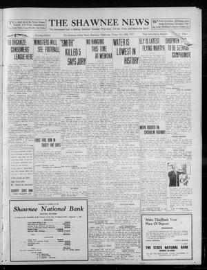 Primary view of object titled 'The Shawnee News (Shawnee, Okla.), Vol. 16, No. 177, Ed. 1 Friday, October 20, 1911'.