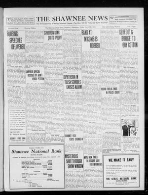 Primary view of object titled 'The Shawnee News (Shawnee, Okla.), Vol. 16, No. 182, Ed. 1 Friday, October 27, 1911'.