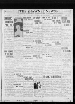 Primary view of object titled 'The Shawnee News (Shawnee, Okla.), Vol. 16, No. 183, Ed. 1 Sunday, October 29, 1911'.