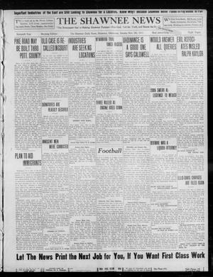 Primary view of object titled 'The Shawnee News (Shawnee, Okla.), Vol. 16, No. 189, Ed. 1 Sunday, November 5, 1911'.