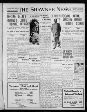 Primary view of object titled 'The Shawnee News (Shawnee, Okla.), Vol. 16, No. 200, Ed. 1 Monday, November 20, 1911'.