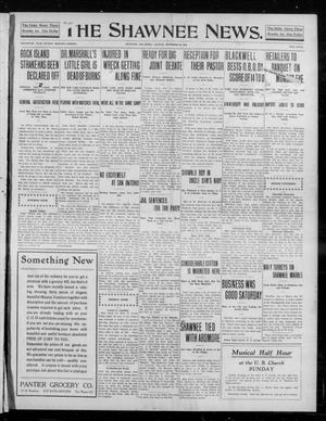 Primary view of object titled 'The Shawnee News. (Shawnee, Okla.), Vol. 16, No. 205, Ed. 1 Sunday, November 26, 1911'.