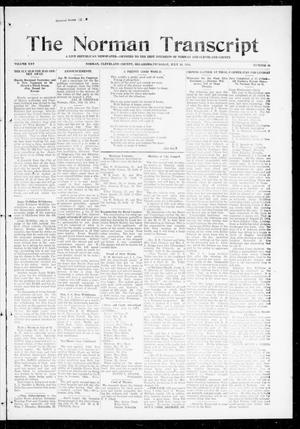 Primary view of object titled 'The Norman Transcript (Norman, Okla.), Vol. 25, No. 45, Ed. 1 Thursday, July 16, 1914'.