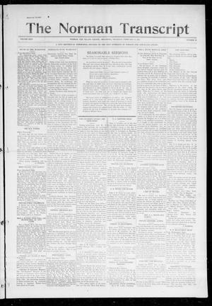 Primary view of object titled 'The Norman Transcript (Norman, Okla.), Vol. 26, No. 23, Ed. 1 Thursday, February 11, 1915'.