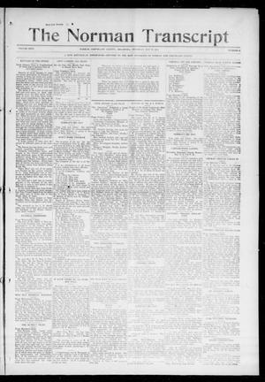 Primary view of object titled 'The Norman Transcript (Norman, Okla.), Vol. 26, No. 41, Ed. 1 Thursday, May 27, 1915'.