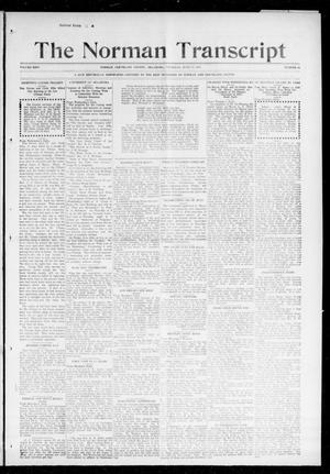 Primary view of object titled 'The Norman Transcript (Norman, Okla.), Vol. 26, No. 44, Ed. 1 Thursday, June 17, 1915'.