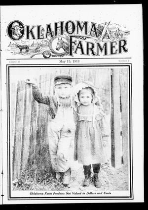 Primary view of object titled 'Oklahoma Farmer (Guthrie, Okla.), Vol. 23, No. 2, Ed. 1 Thursday, May 15, 1913'.