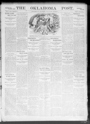Primary view of object titled 'The Oklahoma Post. (Oklahoma City, Okla.), Vol. 5, No. 33, Ed. 1 Thursday, July 12, 1906'.