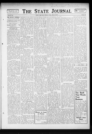 Primary view of object titled 'The State Journal (Mulhall, Okla.), Vol. 11, No. 16, Ed. 1 Friday, March 21, 1913'.