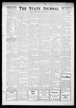 Primary view of object titled 'The State Journal (Mulhall, Okla.), Vol. 11, No. 27, Ed. 1 Friday, June 6, 1913'.