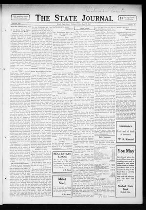 Primary view of object titled 'The State Journal (Mulhall, Okla.), Vol. 11, No. 28, Ed. 1 Friday, June 13, 1913'.