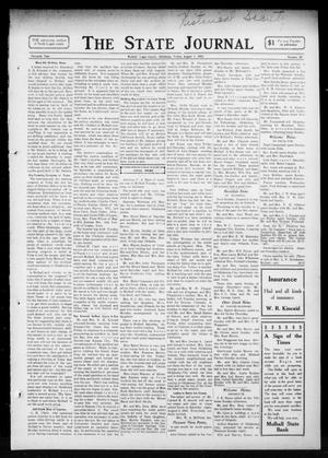 Primary view of object titled 'The State Journal (Mulhall, Okla.), Vol. 11, No. 35, Ed. 1 Friday, August 1, 1913'.