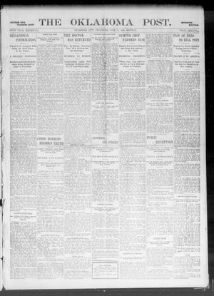 Primary view of object titled 'The Oklahoma Post. (Oklahoma City, Okla.), Vol. 5, No. 2, Ed. 1 Monday, June 11, 1906'.