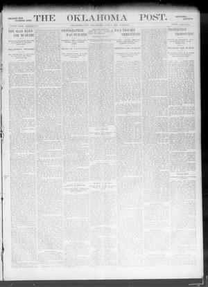 Primary view of object titled 'The Oklahoma Post. (Oklahoma City, Okla.), Vol. 5, No. 24, Ed. 1 Tuesday, July 3, 1906'.