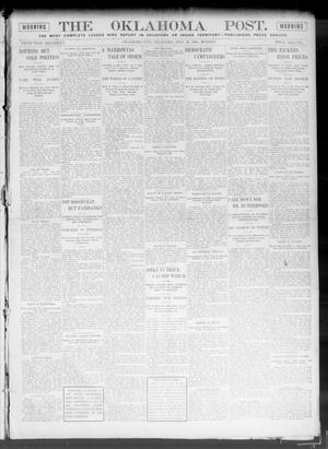 Primary view of object titled 'The Oklahoma Post. (Oklahoma City, Okla.), Vol. 5, No. 51, Ed. 1 Monday, July 30, 1906'.