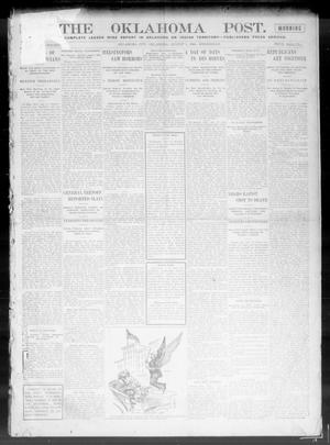 Primary view of object titled 'The Oklahoma Post. (Oklahoma City, Okla.), Vol. 5, No. 53, Ed. 1 Wednesday, August 1, 1906'.
