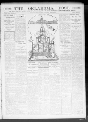 Primary view of object titled 'The Oklahoma Post. (Oklahoma City, Okla.), Vol. 5, No. 69, Ed. 1 Friday, August 17, 1906'.