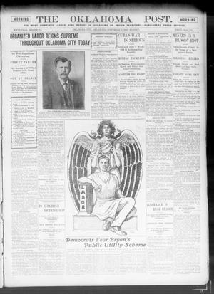 Primary view of The Oklahoma Post. (Oklahoma City, Okla.), Vol. 5, No. 85, Ed. 1 Monday, September 3, 1906