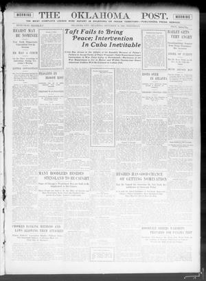 Primary view of The Oklahoma Post. (Oklahoma City, Okla.), Vol. 5, No. 108, Ed. 1 Wednesday, September 26, 1906